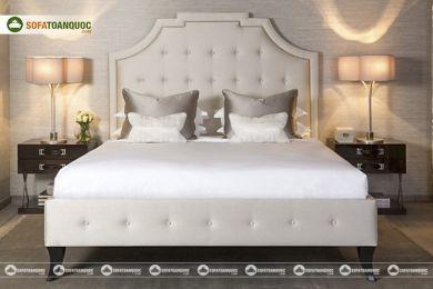 Giường ngủ bọc vải mã 69