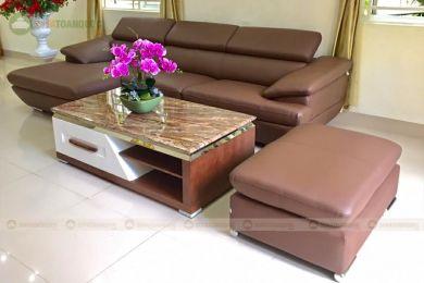 Mẫu sofa da mã 211