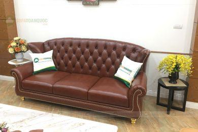 Ghế sofa văng kiểu tân cổ điển mã 152