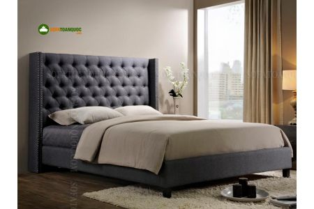 giường ngủ bọc vải mã 05
