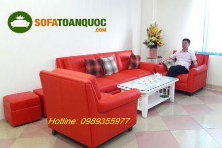 Ghế sofa da mã 01