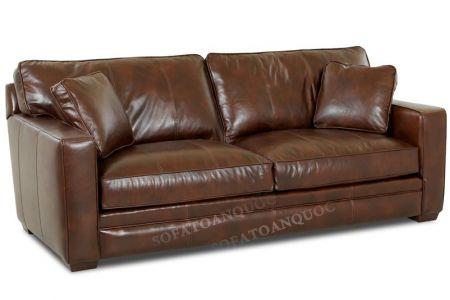Mẫu ghế sofa đôi văng bọc da mã 48