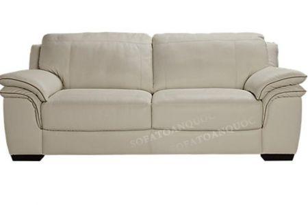 Ghế sofa văng kích thước nhỏ cho phòng khách nhỏ màu trắng mã 83