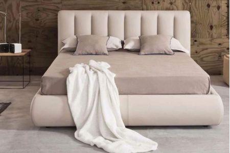 Giường ngủ vải mã 75