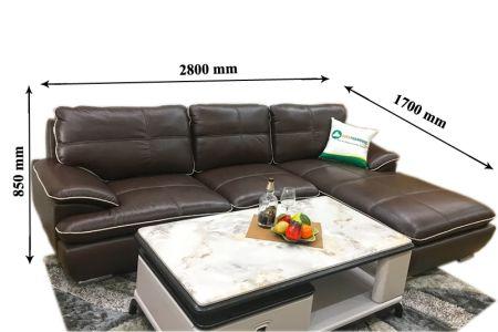 Sofa da thật cao cấp mã M05B