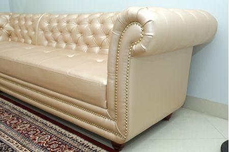 Mẫu sofa da sang trọng tân cổ điển mã TN-05B