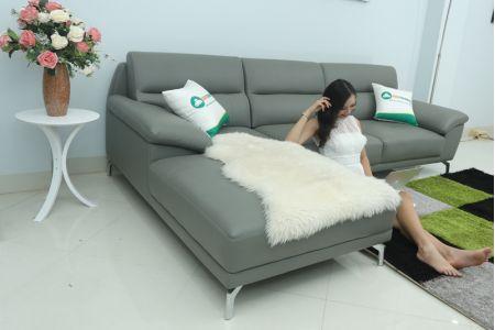 Sofa đẹp chân inox mã TN-06B