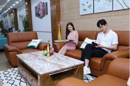 Bộ ghế sofa 3 chiếc 2 ghế đơn 1 văng mã M08