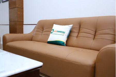Bộ ghế sofa da đẹp giá rẻ cho phòng khách mã M09