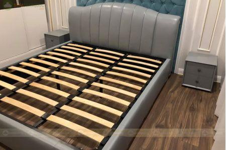 Giường ngủ da đẹp mã 105