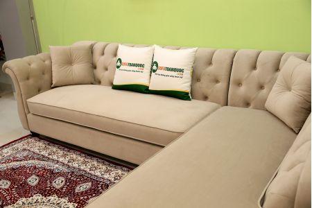 Ghế sofa vải mã MV04
