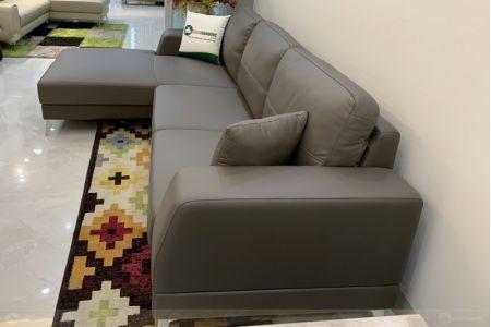 Sofa góc l da thật mã M18