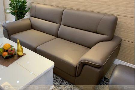 Sofa băng đơn dài 2 chỗ màu cafe 2200mm mã 191