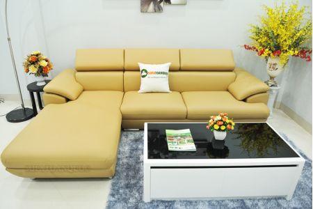 ghế sofa da  mã sd-02p-09