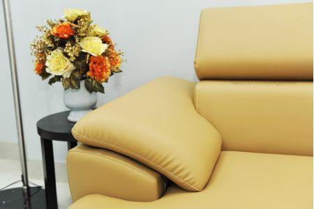 ghế sofa da  mã sd-02p-11