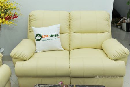 Bộ bàn ghế sofa da bò tót nhập khẩu mã tq06-11