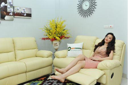 Bộ bàn ghế sofa da bò tót nhập khẩu mã tq06-4