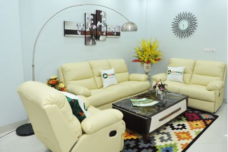 Bộ bàn ghế sofa da bò tót nhập khẩu mã tq06-6