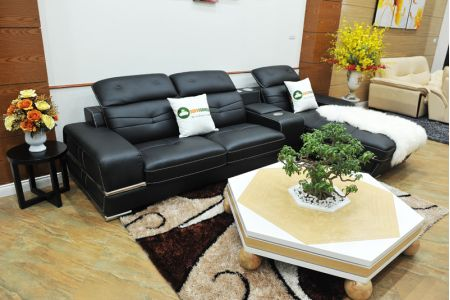 ghế sofa da nhập khẩu mã sdn03t-11