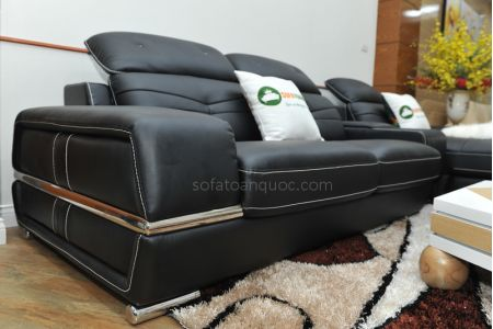 ghế sofa da nhập khẩu mã sdn03t-14
