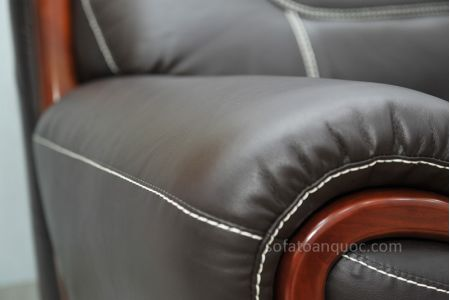 ghế sofa da nhập khẩu sdn011t-14
