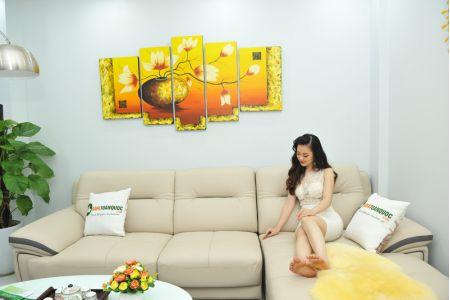 ghế sofa da nhập khẩu sdn13t-4