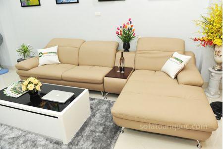 ghế sofa da nhập khẩu sdn09t-12