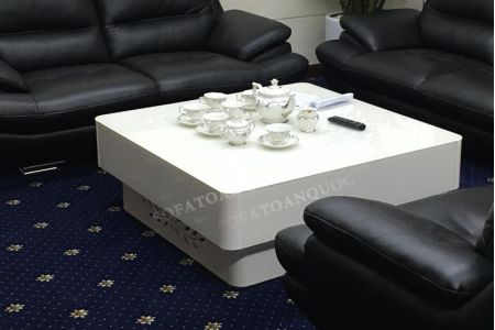 Mẫu Bàn Trà Sofa Decor Màu Trắng Đẹp Mã 58