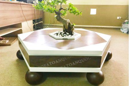 Bàn trà sofa bonsai cây cảnh mã 84