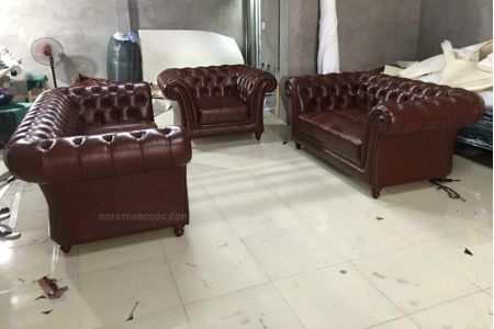 Ghế Sofa Da Mã 170