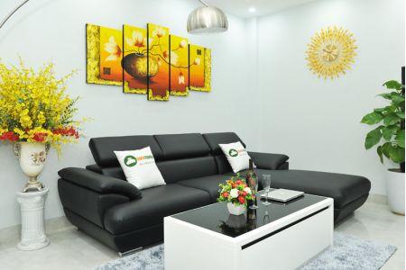 Bộ bàn ghế sofa cho phòng khách nhỏ mã TN01T-7