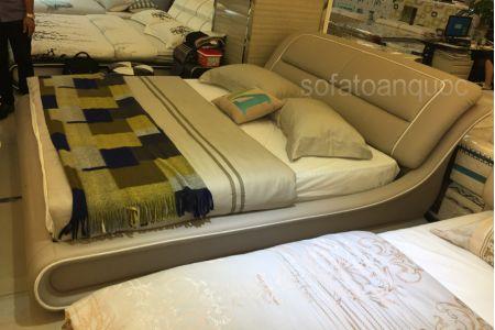 Giường ngủ bọc da mã 56-3