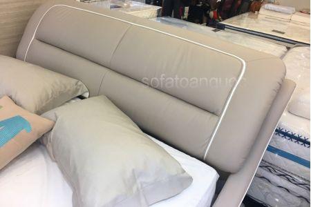 Giường ngủ bọc da mã 56-5