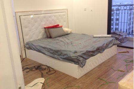 giường ngủ  bọc da mã 13-3