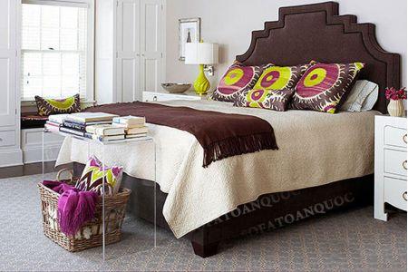Giường ngủ bọc vải mã 16