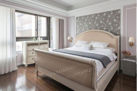 Giường ngủ bọc vải mã 19