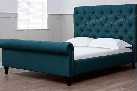 Giường ngủ bọc vải mã 22