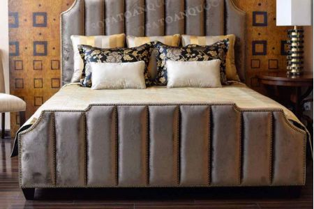 Giường ngủ bọc vải mã 45-4
