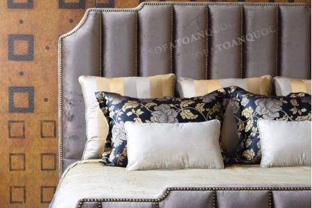 Giường ngủ bọc vải mã 45-5