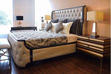 giường ngủ bọc vải mã 46-3