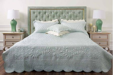 Giường ngủ bọc vải mã 54