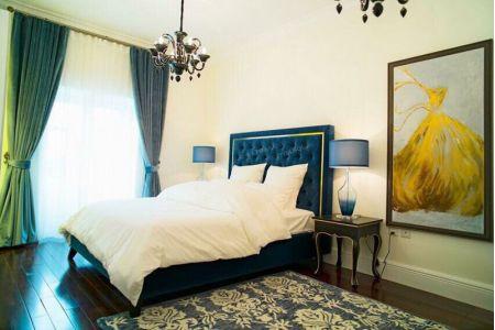 Giường ngủ bọc vải mã 54-3