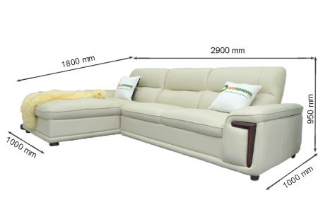 Bộ ghế sofa giả da cao cấp nhập khẩu mã QVF1623P-15