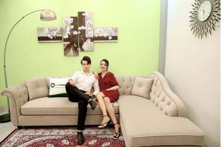 Ghế sofa vải tân cổ điển mã 40-1