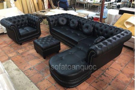 Ghế Sofa Da Mã 153