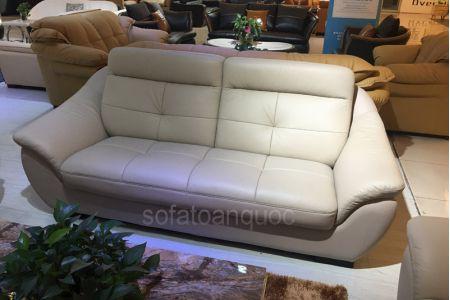 Bộ ghế sofa tiếp khách văn phòng bọc da  mã 154-2