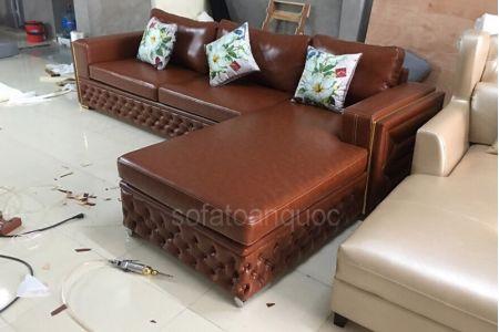 ghế sofa da mã 166-2