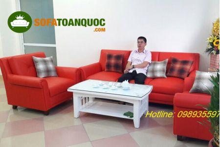 Ghế sofa da mã 01-3