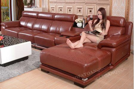 Ghế sofa da mã 12-2