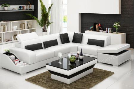 Ghế sofa da mã 80-2